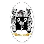 Michelazzo Sticker (Oval 10 pk)