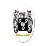 Michelazzo 35x21 Oval Wall Decal