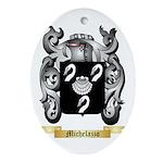 Michelazzo Oval Ornament