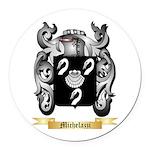 Michelazzi Round Car Magnet