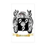 Michelazzi Sticker (Rectangle 10 pk)