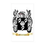 Michelazzi Sticker (Rectangle 50 pk)