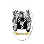 Michelazzi 35x21 Oval Wall Decal