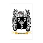 Michelaud Sticker (Rectangle 50 pk)