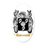 Michelato Oval Car Magnet