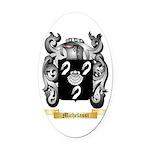 Michelassi Oval Car Magnet