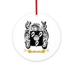Michel Round Ornament