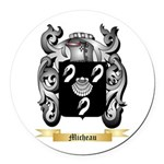 Micheau Round Car Magnet