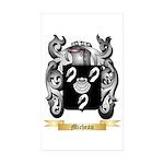 Micheau Sticker (Rectangle 50 pk)