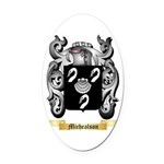 Michealson Oval Car Magnet