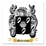 Michealson Square Car Magnet 3