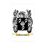 Michealson Sticker (Rectangle 10 pk)