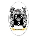Michealson Sticker (Oval 50 pk)
