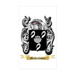 Michealowici Sticker (Rectangle 50 pk)