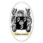 Michealowici Sticker (Oval)