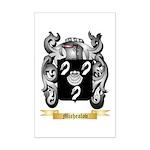 Michealov Mini Poster Print
