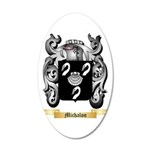 Michalon 20x12 Oval Wall Decal
