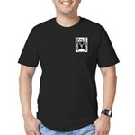 Michallaud Men's Fitted T-Shirt (dark)