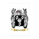 Michallaud Sticker (Rectangle 50 pk)