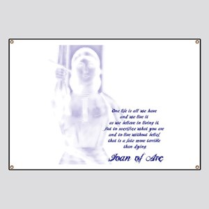 Joan of Arc - One Life Banner