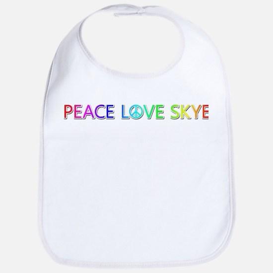 Peace Love Skye Bib