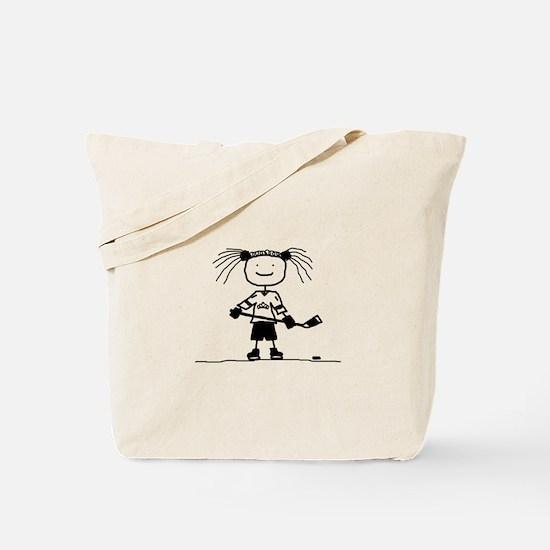 Ice Princess Tote Bag