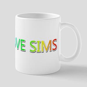 Peace Love Sims Mugs
