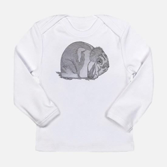 Mini Lop By Karla Hetzler Long Sleeve T-Shirt