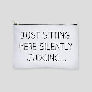 Silently Judging Makeup Bag
