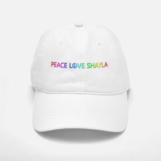 Peace Love Shayla Baseball Baseball Baseball Cap