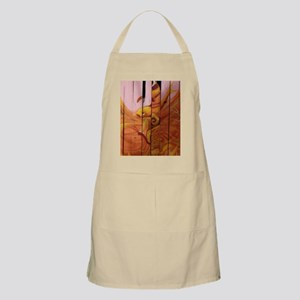Golden Graffiti Goldfish Apron