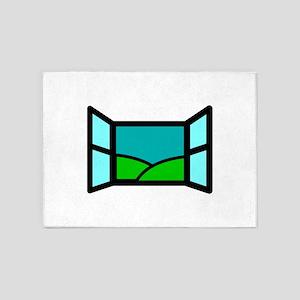 Window 5'x7'Area Rug