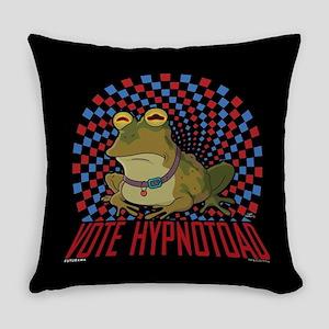 Futurama Vote Hypnotoad Everyday Pillow