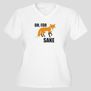 Oh For Fox Sake Plus Size T-Shirt