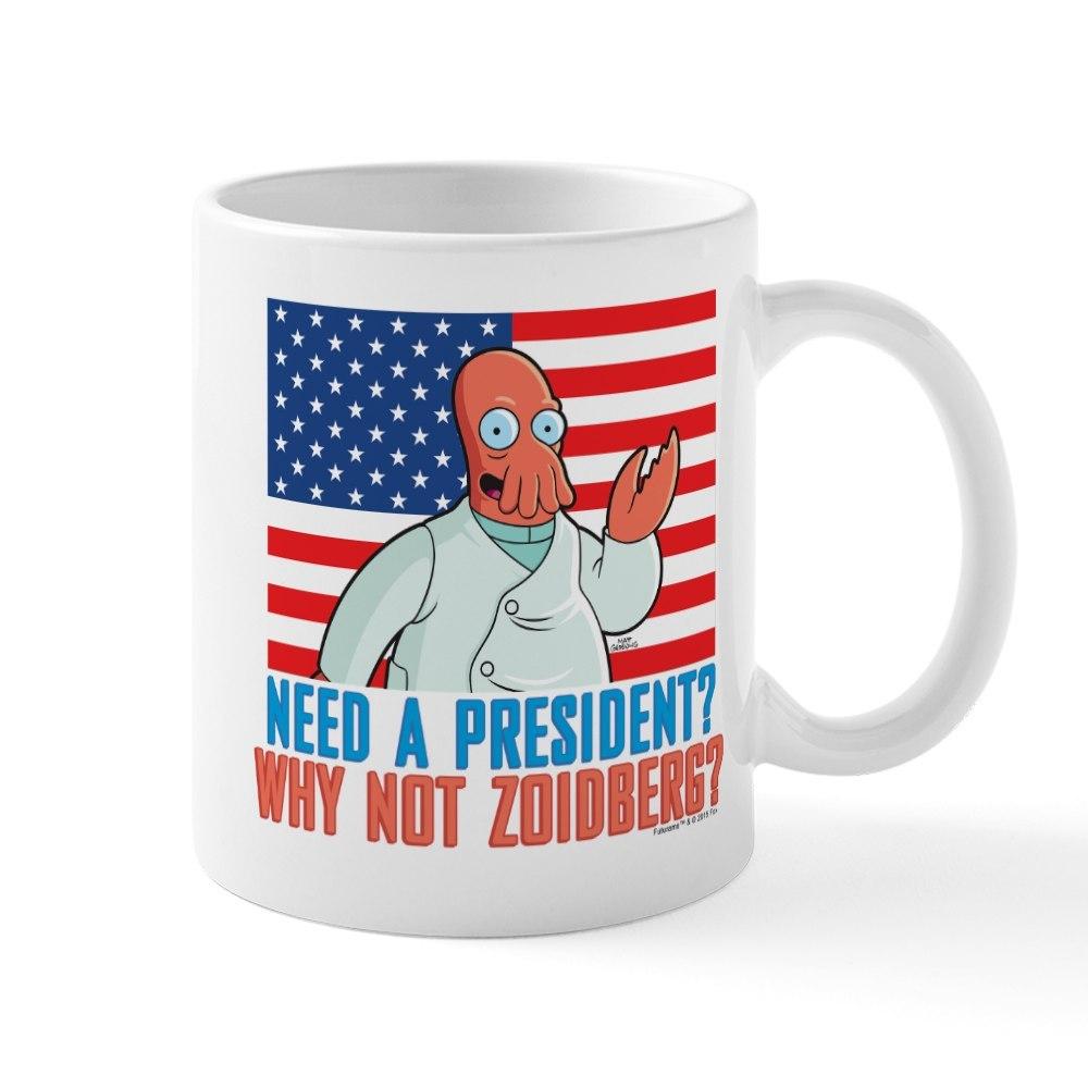 CafePress Futurama Why Not Zoidberg Mug 11 oz Ceramic Mug