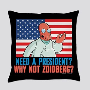 Futurama Why Not Zoidberg Everyday Pillow