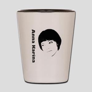 Anna Karina Shot Glass
