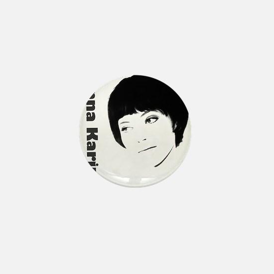 Anna Karina Mini Button