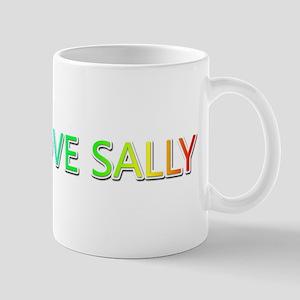Peace Love Sally Mugs