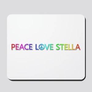 Peace Love Stella Mousepad