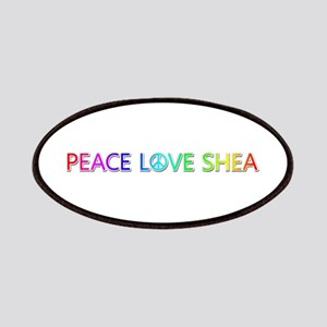 Peace Love Shea Patch
