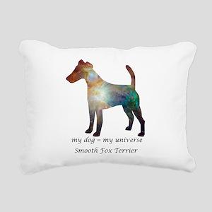 SMOOTH FOX TERRIER Rectangular Canvas Pillow
