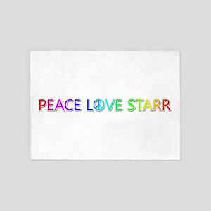 Peace Love Starr 5'x7' Area Rug