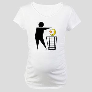 Trash Religion (Muslim Version) Maternity T-Shirt