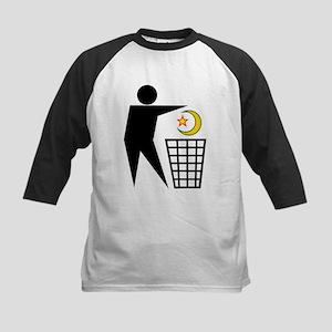 Trash Religion (Muslim Version) Kids Baseball Jers