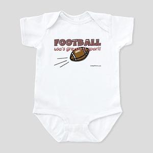 FOOTBALL (usa's greatest spor Infant Bodysuit