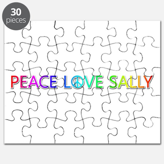 Peace Love Sally Puzzle
