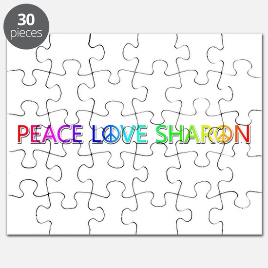 Peace Love Sharon Puzzle