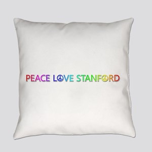 Peace Love Stanford Everyday Pillow