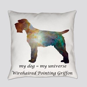 WIREHAIRED POINTING GRIFFON Everyday Pillow